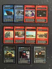 Star Wars CCG DS Special Edition Lot 11 Unique Rares