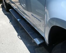"2015-2019 Chevy Colorado GMC Canyon Crew GM OEM 5"" Chrome Rect Assist Steps NEW"