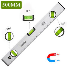 Aluminium Wasserwaage 3 Libellen Magnetwasserwage Präzisionswasserwaage Auswahl