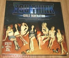 GIRLS' GENERATION YOU THINK 5TH ALBUM CD + TAEYEON PHOTOCARD + POSTER IN TUBE