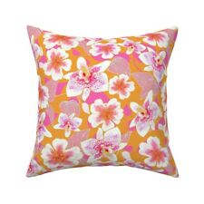 Indian River Textiles Hawaiian Throw Pillow Cover w Optional Insert by Roostery