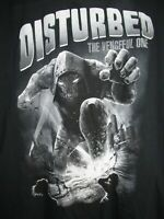 Disturbed - The Vengeful One 2016 World Tour - Black T Shirt size 2XL