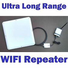 2 MILE! Long Range Outdoor/Indoor WIFI Repeater Bridge Extender Router Expander