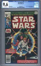 Star Wars #1 Vol 1 CGC 9.6 Stunning Book! A New Hope Movie Adaptation 1977