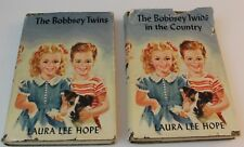 Nice 1950 Vintage Set of 2 books Bobbsey Twins  and Bobbsey Twins in the Country