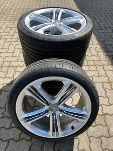 Original Audi S8 / A8  Typ D4/4H Alufelgen 21 Zoll 4H0601025P mit Sommerreifen