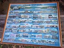 ALBEMARLE NORTH CAROLINA FRAMED PRINT OF TOWN BY JUDY MURRELL SIGNED