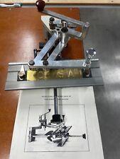 New Hermes Engraving Machine Mini Grav Portable Pantograph Engraver Good Cond