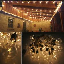 Vintage Edison Bulb Fairy String Light 20 Star LED Warm White Outside Decoration