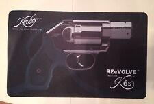 "Kimber revolvers' gun shop "" 16"" x 10 ""comptoir mat, reevolve K6"