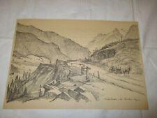 um 1939 Organisation Todt - Strassenbau in den Kärntner Alpen