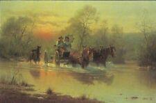 G. Harvey - Cowboy Courtin -  Signed & Number Ltd. Ed Print