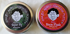 "Crazy Aaron's Thinking Putty Mini Tin Complete Bundle Gift Set 2 PACK 2"" tins"