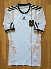GERMANY DEUTSCHLAND 2010 2011 ADIDAS TECHFIT PLAYER ISSUE SHIRT JERSEY TRIKOT