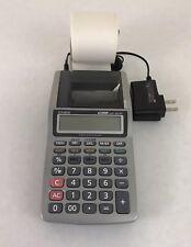 Casio Printing Calculator HR-8TM Plus Large Display Uncluttered Keyboard WORKS