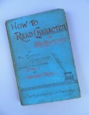 How To Read Character in Handwriting  or The Grammar of Graphology - Henry Firth