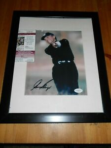 "GARY PLAYER - Autographed & COA By JSA Authentication  Golf Photo Frame 13""x16"""
