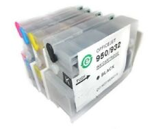4 emtpty Refillable ink Cartridges 932 933 for HP Officejet Pro 6700/6100e/6600e