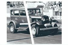 """1960s NHRA Drag Racing-""""TOUCH ME NOT""""-'32 Ford A/Altered-Cecil County Dragway"""