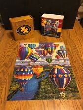 """BALLOON FESTIVAL""  DOWDLE 500 Piece Puzzle  16"" X 20""  (2014)"