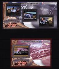 Guinea 2012 - amerikanische Automobile - Chrysler - Dodge Viper - Ford Torino