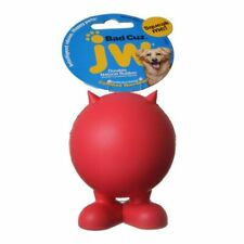 "LM JW Pet Bad Cuz Rubber Squeaker Dog Toy Medium - 4"" Tall"