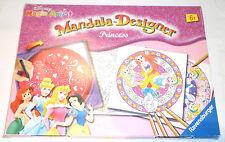 MANDALA DESIGNER PRINCESS DISNEY RAVENSBURGER GUIDA DISEGNARE PRINCIPESSE+MATITE