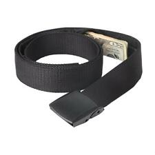 Hidden Cash Travel Security Money Belt Zip Pocket Waist Wallet Anti-Theft Bag