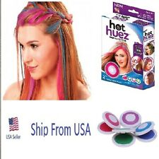 NEW HOT HUEZ HUES HAIR CHALK. AS SEEN ON TV, USA SELLER,FREE SHIPPING!