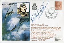 RAF Aviators cover signed by WW2 Battle of Britain ace Bob Stanford-Tuck DFC