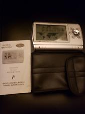 Chass Global Atomic Radio Alarm Clock World Travel Sync
