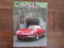 VINTAGE CAVALLINO FERRARI MAGAZINE NUMBER 48 December 1988 275 GTB Cover