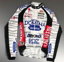 DOMINA 2004 CIPOLLINI RIDERS NALINI TOUR 1 CYCLING LONG SLEEVED JERSEY MAILLOT M