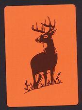deer playing card single swap ace of diamonds - 1 card