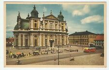 Postcard - 1920's -The Cathedral and City Hall- Smaland , Sweden - Unused #PC80