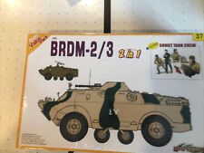 Dragon Models Russian BRDM-2/3 with Tank Crew 1/35 Scale Kit P/N: 9137