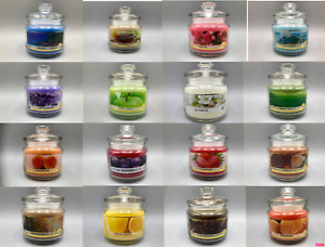 14/18oz Medium Scented Candles In Glass Jar Assorted Fragrance Home Gift Pack