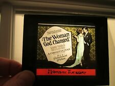 Woman God Changed  - Original 1921  Movie Glass Slide - Lincoln