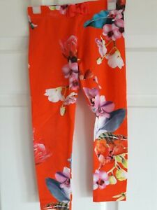 Ted Baker Girls Orange Leggings, Age 4/5, £3.99.