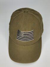Military Tactical Hat American Flag Skull Adjustable Cap c57