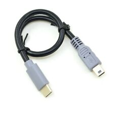 USB 3.1 Type C Male to Mini USB Male Connector Data Cable Adapter Converter Cord