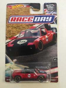 Hot Wheels - Collector Car Culture - Race Days 3/5 Real Riders Porsche 914-6 NEW