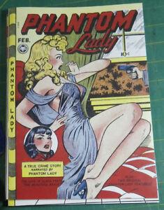 Phantom Lady 16, Matt Baker, !! EXACT, HIGHEST QUALITY FACSIMILE REPRODUCTION!