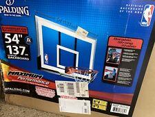Spalding Acrylic Basketball Backboard And Rim Combo
