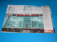 Manchester United Football Ground Front Entrance/Mark Hughes £5.99 Free P & P