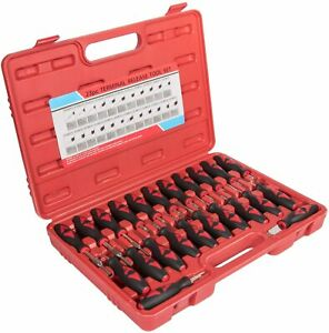 23pcs Universal Terminal Connector Release Tool Kit Electrical Removal Tool Set