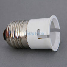 E27 to B22 Base Socket LED Halogen Light Lamp Bulb Adapter Converter Holder