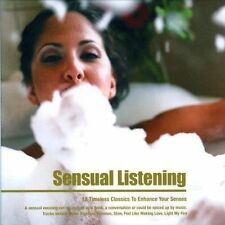 SENSUAL LISTENING  ( CD ) - 18 TIMELESS CLASSICS TO ENHANCE YOUR SENSES