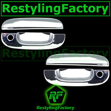 94-01 Dodge Ram Triple Chrome Plated 2 Door handle W/ Passenger Keyhole cover