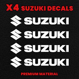 X4SUZUKI Decals MotorbikeStickers gsx-r Motorcycle Tank Fairing Helmet dr bike